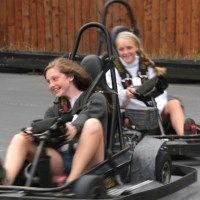the go kart track best amusement parks in maryland