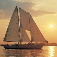 Schooner Woodwin Sailboat Dinner Cruises on the Chesapeake Bay MD